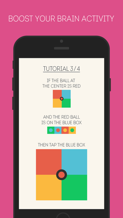 Balls & Boxes: Brain training game