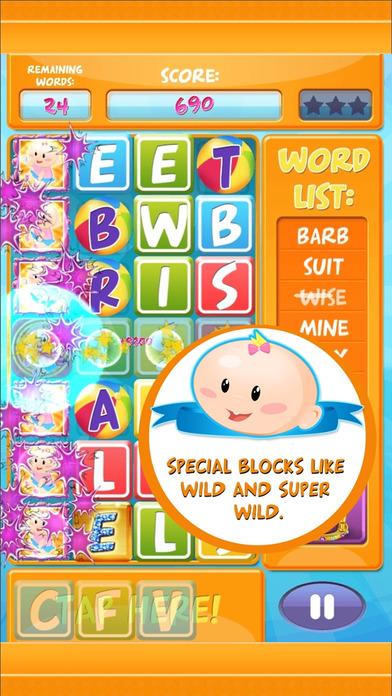 Baby Blocks – Swipe  Tap Letters, Spell Words Fast