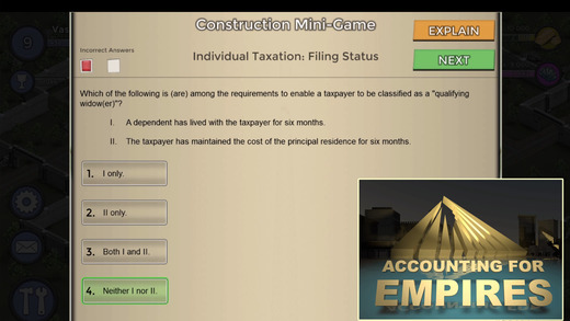 Becker Accounting for Empires™ | CPA Exam Game