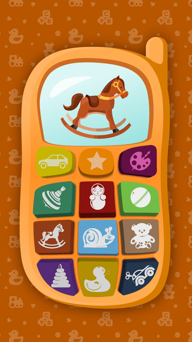 Baby Phone - Educational Sound Game for Toddler HD