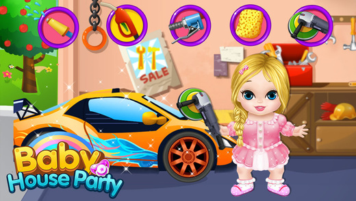 Baby Party Play House! - Kids Games