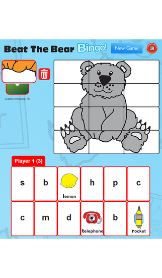 Beat The Bear Bingo