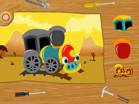Baby Puzzles: Train