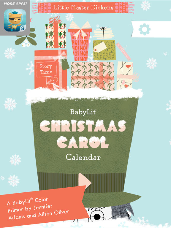 BabyLit Christmas Carol Calendar