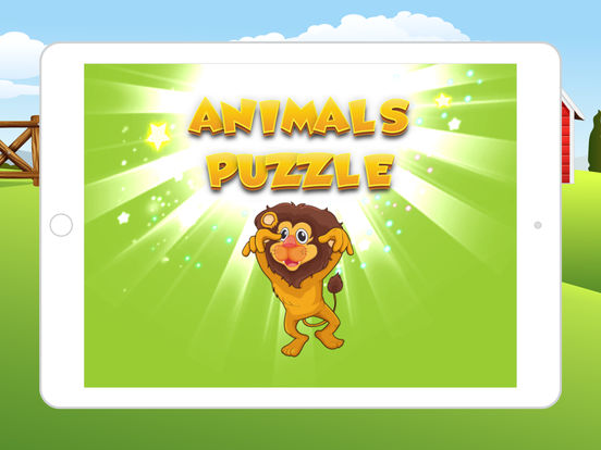Animals Puzzle Vocabulary Games for kids