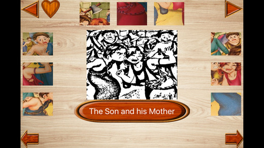 Baby Puzzles of Aesop's Fables English Story 2