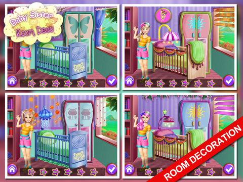 Baby Sister Room Decor Game