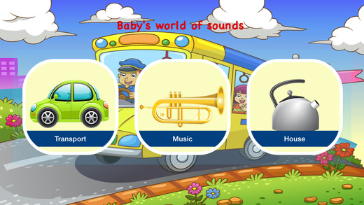 Baby's world of sounds - development game