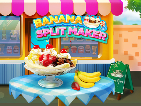 Banana Split Maker - Sundae Making Game