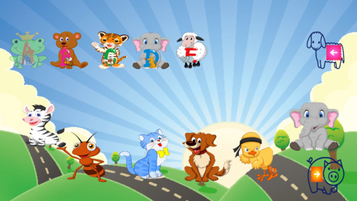 Baby first study Apps - Animals