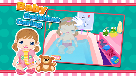 Baby Bath Time Caring