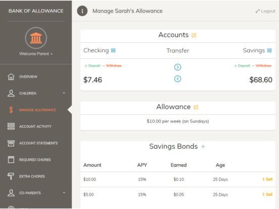 Bank of Allowance