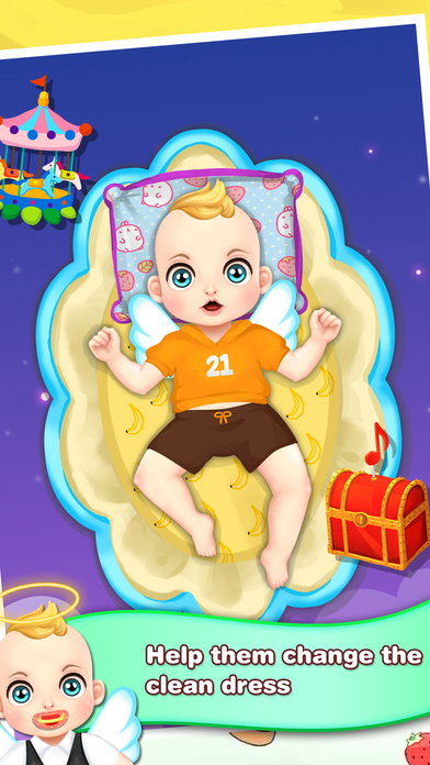 Baby Angels Dress Up Heaven - Salon Girls Games