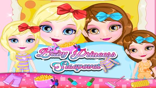 Baby Princess Sleepover - Kids  Girls Games