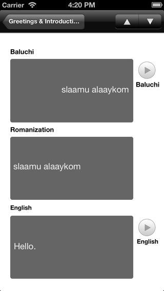 Baluchi - LSK