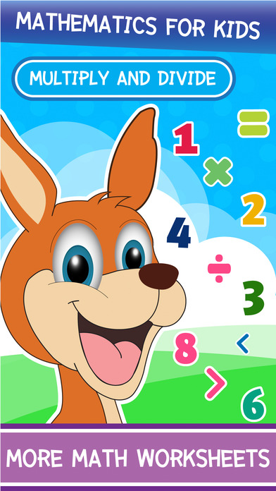 Basic Divide Kangaroo Math Curriculum for Kinder