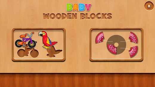 Baby Wooden Blocks Game