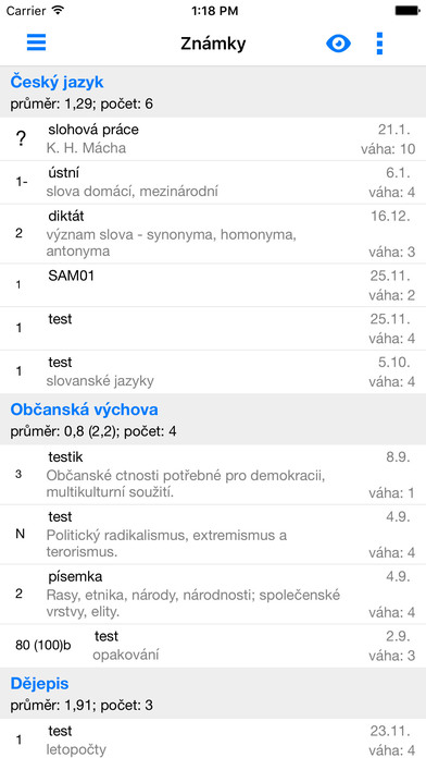 Bakaláři - oficiální aplikace