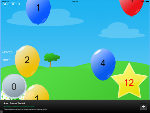 Balloon pop math