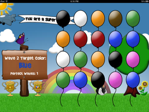 Balloons: Tap and Learn