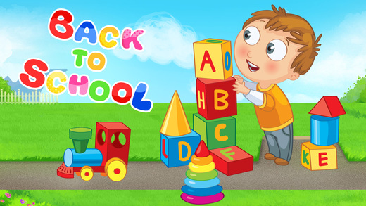 Back To School Puzzles Games For Toddlers & Kids