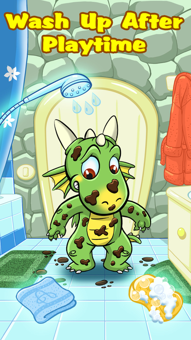 Baby Dragon Tamer - Play, Clean  Dress Up