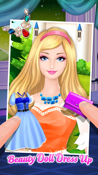 Beauty Doll Dress Up