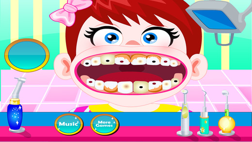 Baby Amy at Dentist