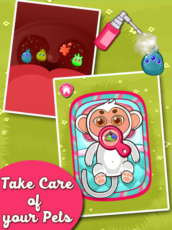 Baby Animal Doctor - Pets Care Control Simulator