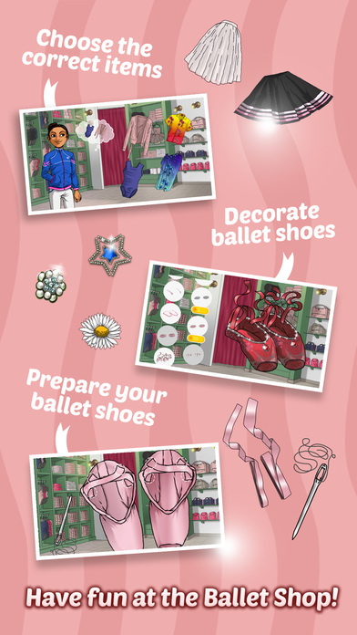 Ballet Day - Ballerina Makeup, Decoration & Fashion