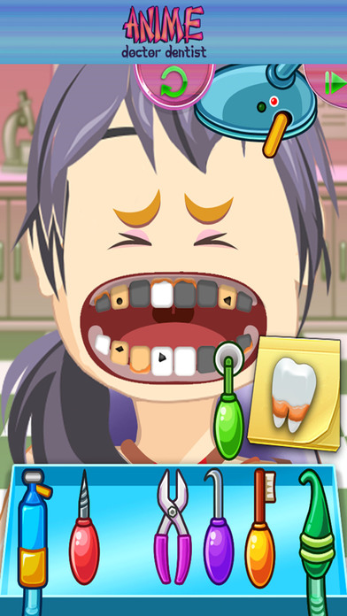 Anime Princess Doctor Dentist - Educational Games