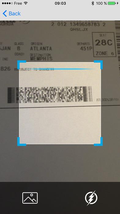 Boarding Pass Reader