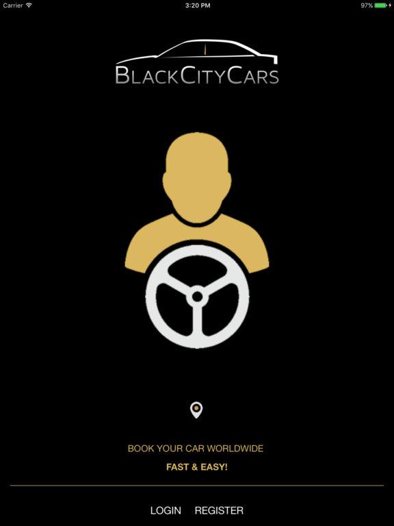 Black City Cars Driver