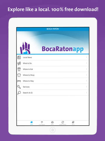 Boca Raton App – Florida – Local Business & Travel Guide