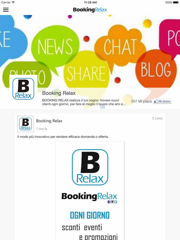 Booking Relax