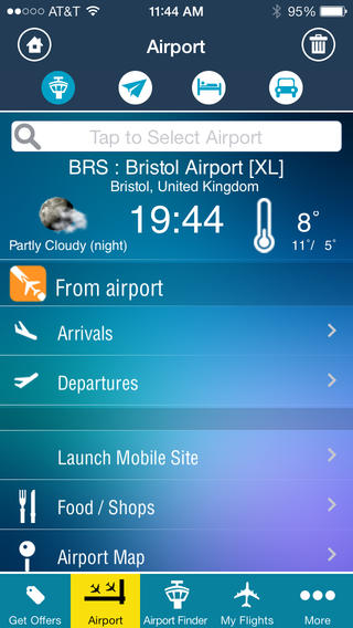 Bristol Airport + Flight Tracker Premium BRS