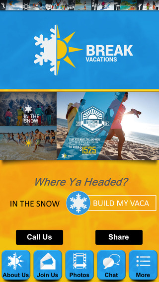 Break Vacations - Building Your Perfect Trip!