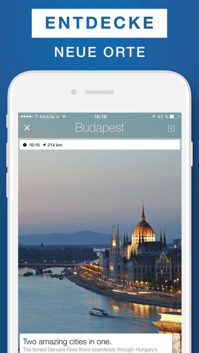 Budapest Reiseführer  Offline-Karte