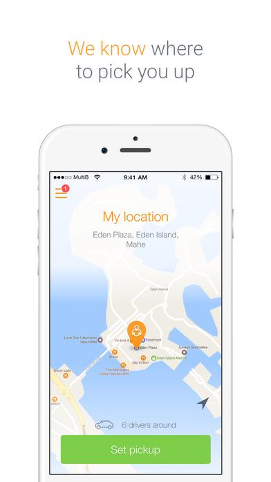 BouZāy Taxi App Seychelles