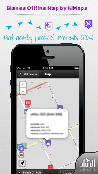 Blanes Offline Map by hiMaps