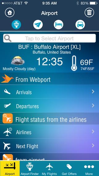 Buffalo Airport - Flight Tracker Premium