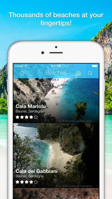 Beach Spot Italy - Beaches in Pocket