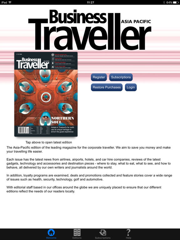 Business Traveller (Asia Pacific)