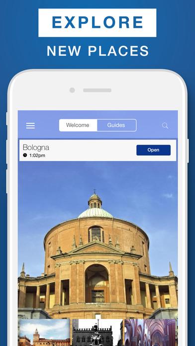 Bologna - Travel Guide  Offline Map