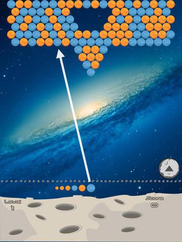 Bubbles planets