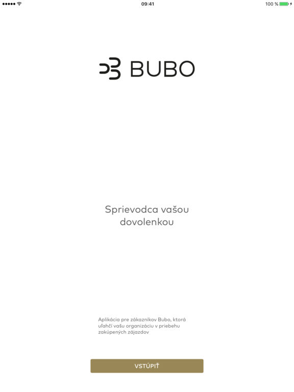 BUBO Cestovateľská aplikácia