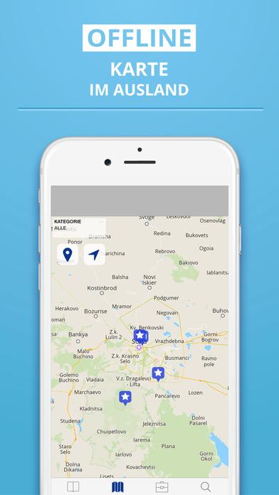 Bulgarien - Reiseführer  Offline Karte