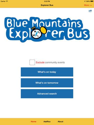 Blue Mountains Explorer Bus