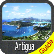 Antigua GPS charts offline spot maps Navigator
