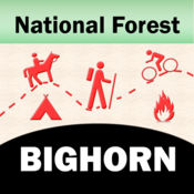 Bighorn National Forest – Offline Map Navigator